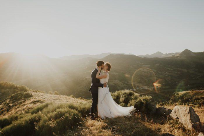 Un mariage intimiste et nature en pleine montagne