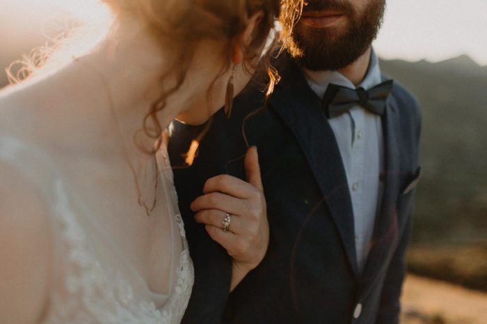Unplugged wedding in the mountains