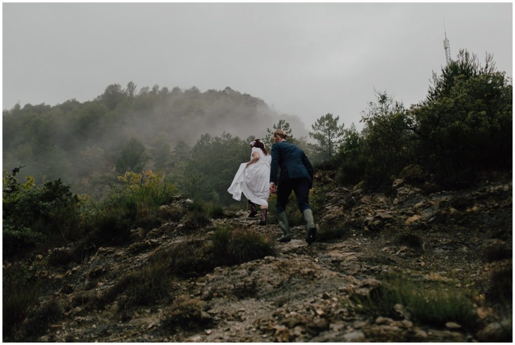 french alps mountains elopement