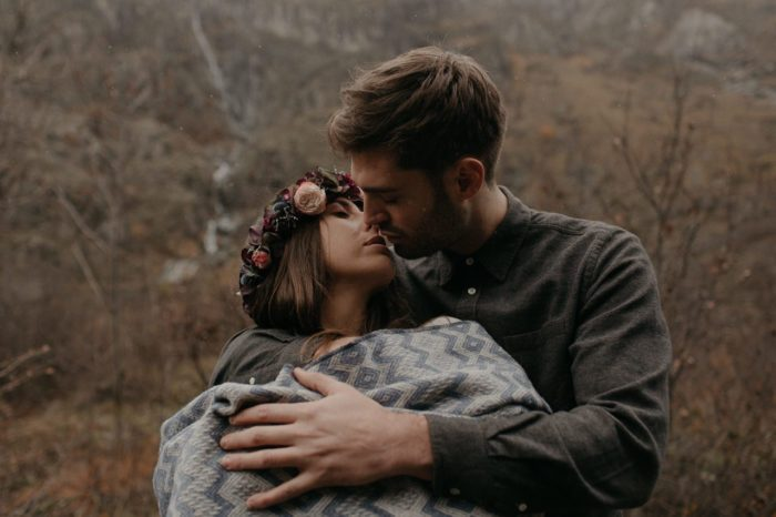 Baptiste Hauville - French Alps engagement session