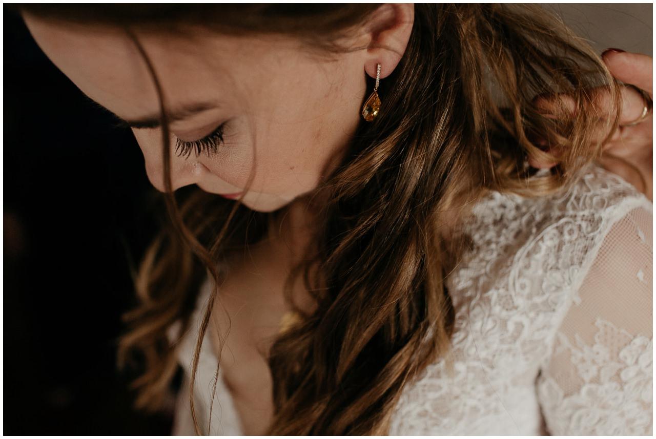 Préparatifs pendant un mariage au Pays Basque
