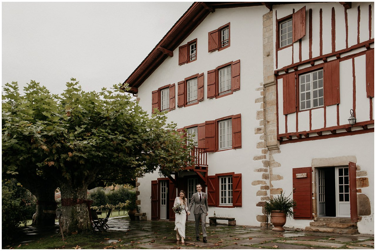 Un mariage champêtre à Ihartze Artea