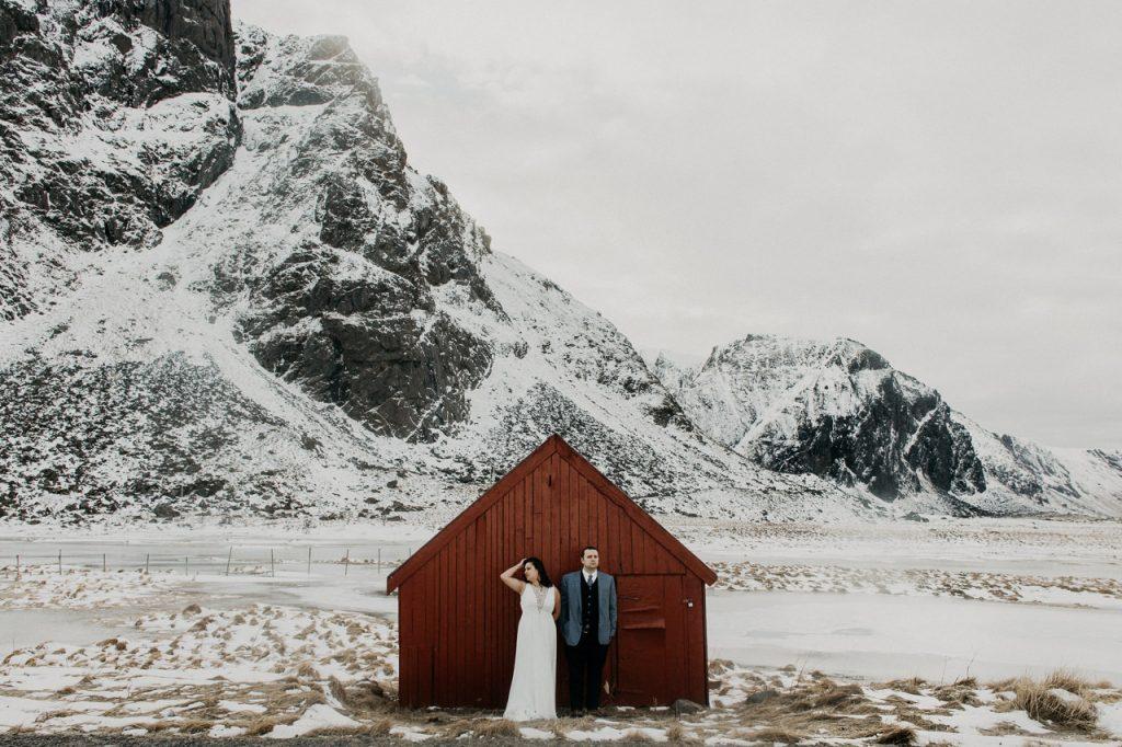 photographe mariage lofoten norvège