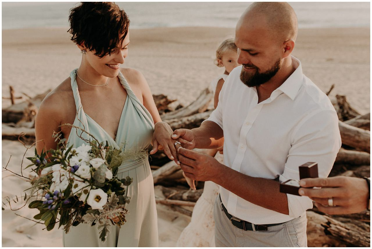 Elopement Plage Estagnots Seignosse
