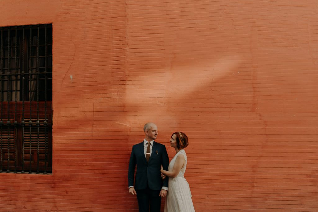 An intimate wedding in the heart of Seville, Spain