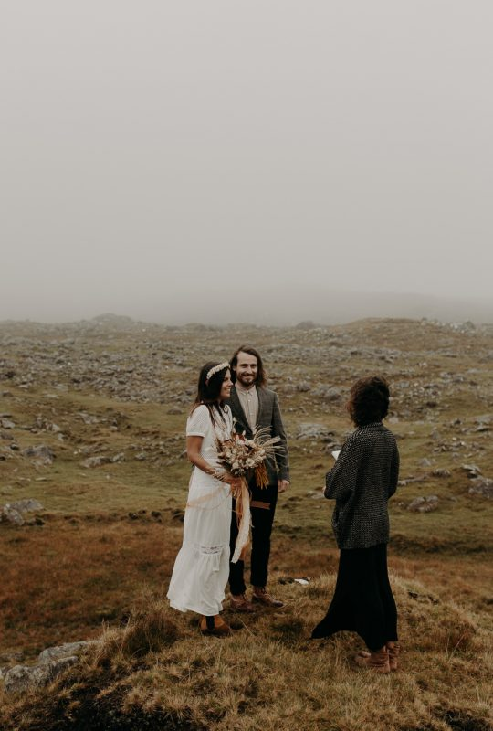 baptiste hauville connemara elopement wedding photographer