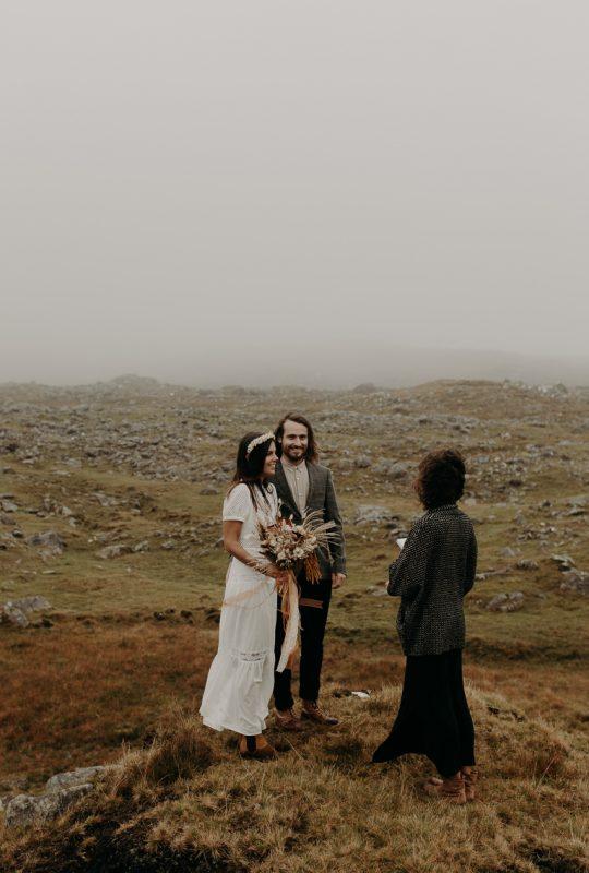 baptiste hauville connemara elopement wedding photographer