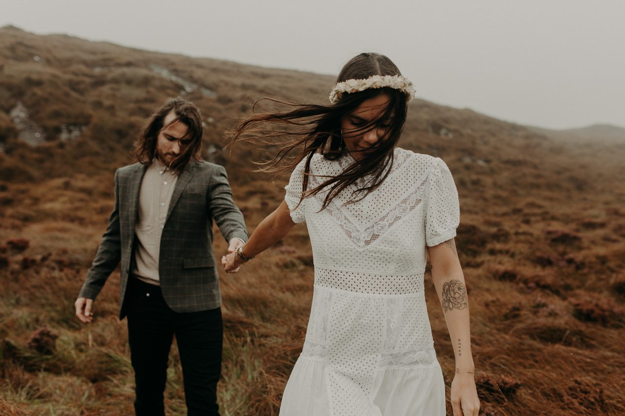 photographe elopement Connemara Irlande